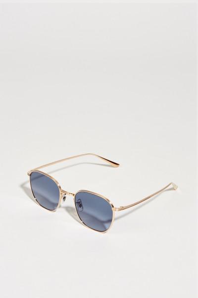 Sonnenbrille 'The Row' Silber/Blau