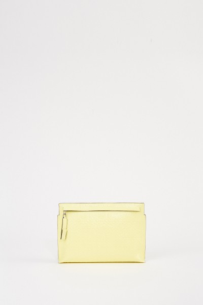 Loewe Clutch 'Pouch Repeat' with logo Yellow