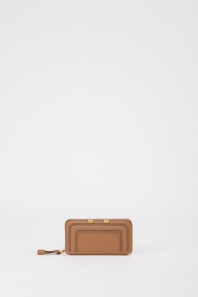 Chloé Portemonnaie 'Marcie' Nut