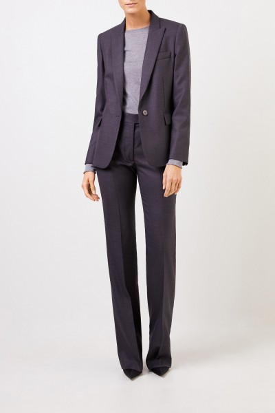 Stella McCartney Woll-Blazer Anthrazit