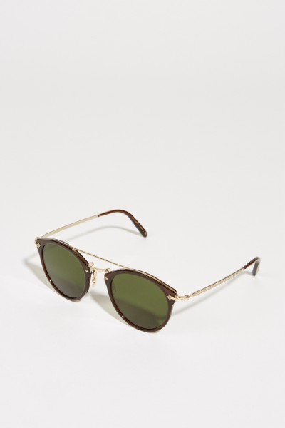 Oliver Peoples Sonnenbrille 'Remick' Braun