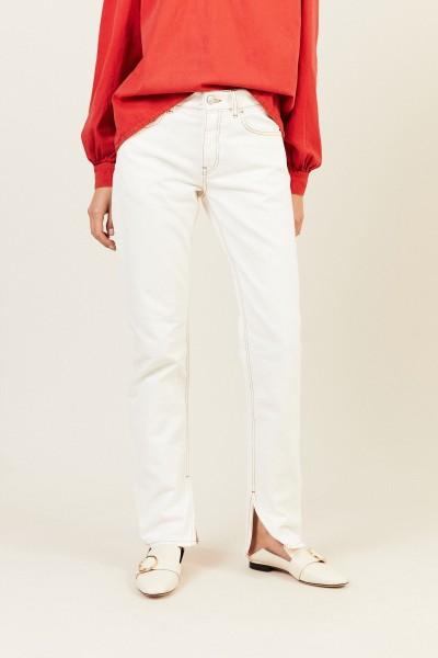 Jeans 'Slit Pants' Weiß