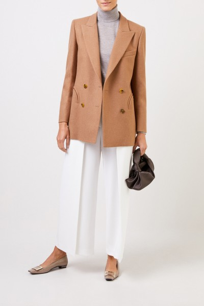 Blazé Milano Woll blazer 'Essential Cholita' Camel