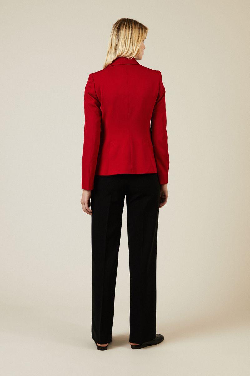 Wollblazer Rot