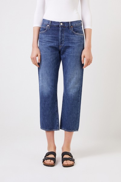 Citizens of Humanity High-Rise Jeans 'Emery' Blau