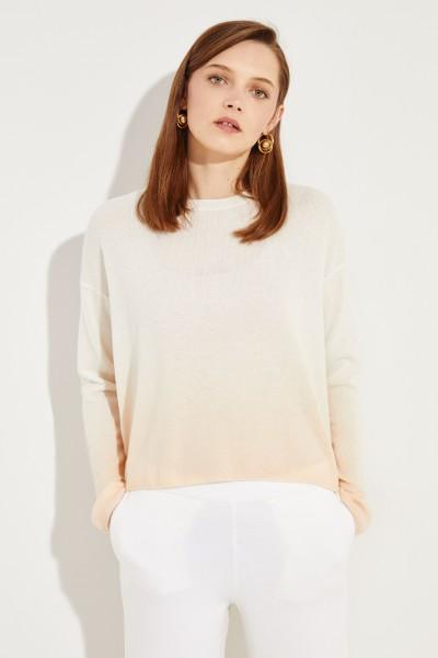 Cashmere-Pullover 'Columbia' Crème/Nude