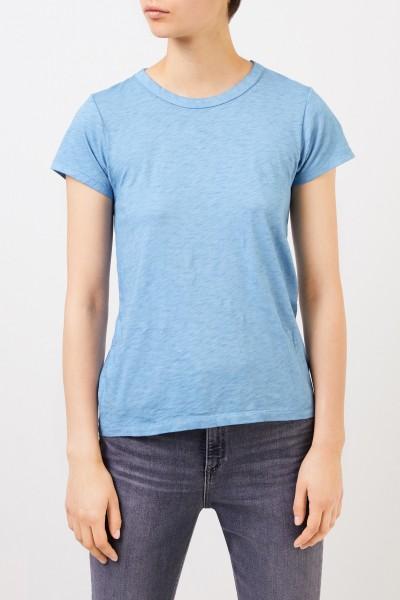 Rag&Bone Cotton shirt 'The Tee' Light Blue