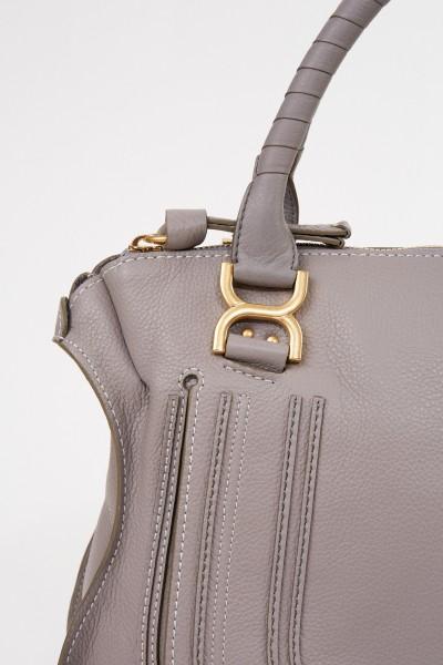 Chloé Handtasche 'Marcie Large' Cashmere Grey
