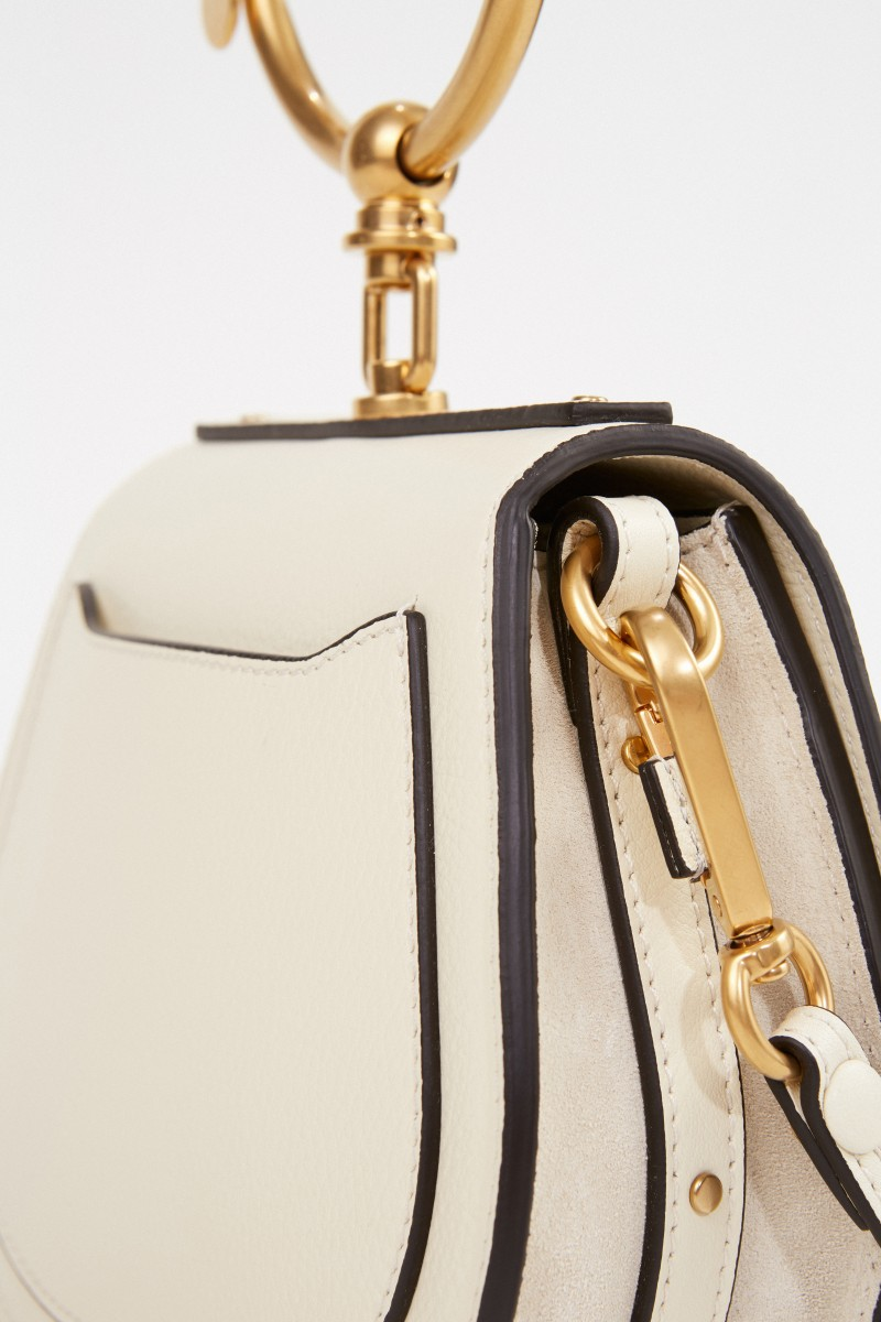 Chloé Umhängetasche 'Nile Small' Off White