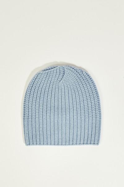 Cashmere-Mütze 'Amelia' Blau
