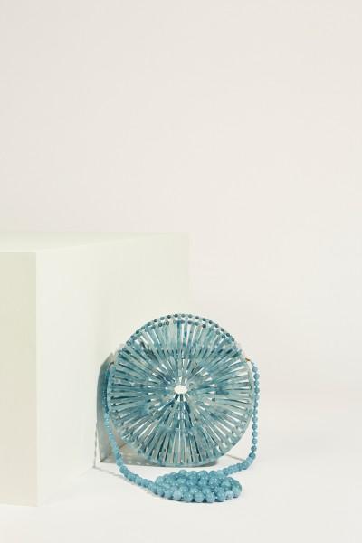 Umhängetasche 'Acrylic Luna' Blau