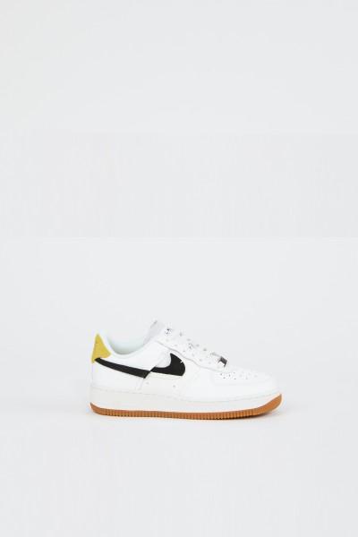 Nike Plateau-Sneaker'Air Force 1' Cream/Mustard/Black