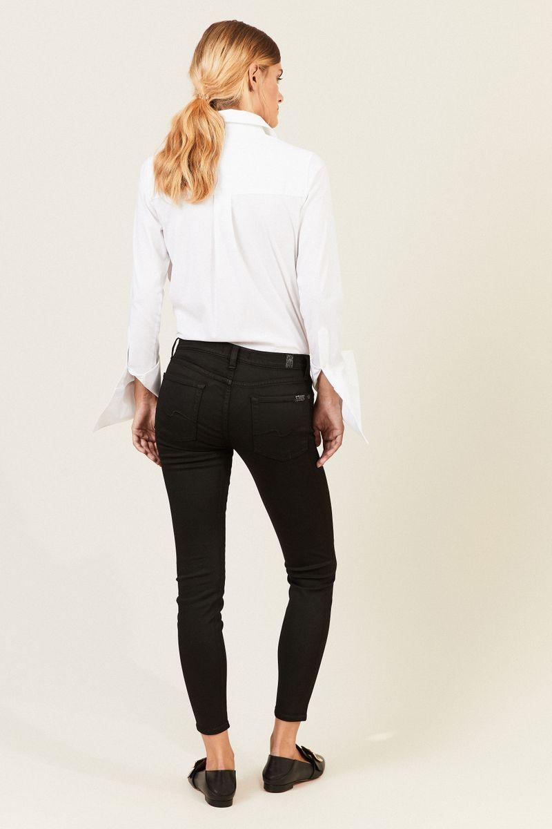 Jeans 'The Skinny Crop' Schwarz