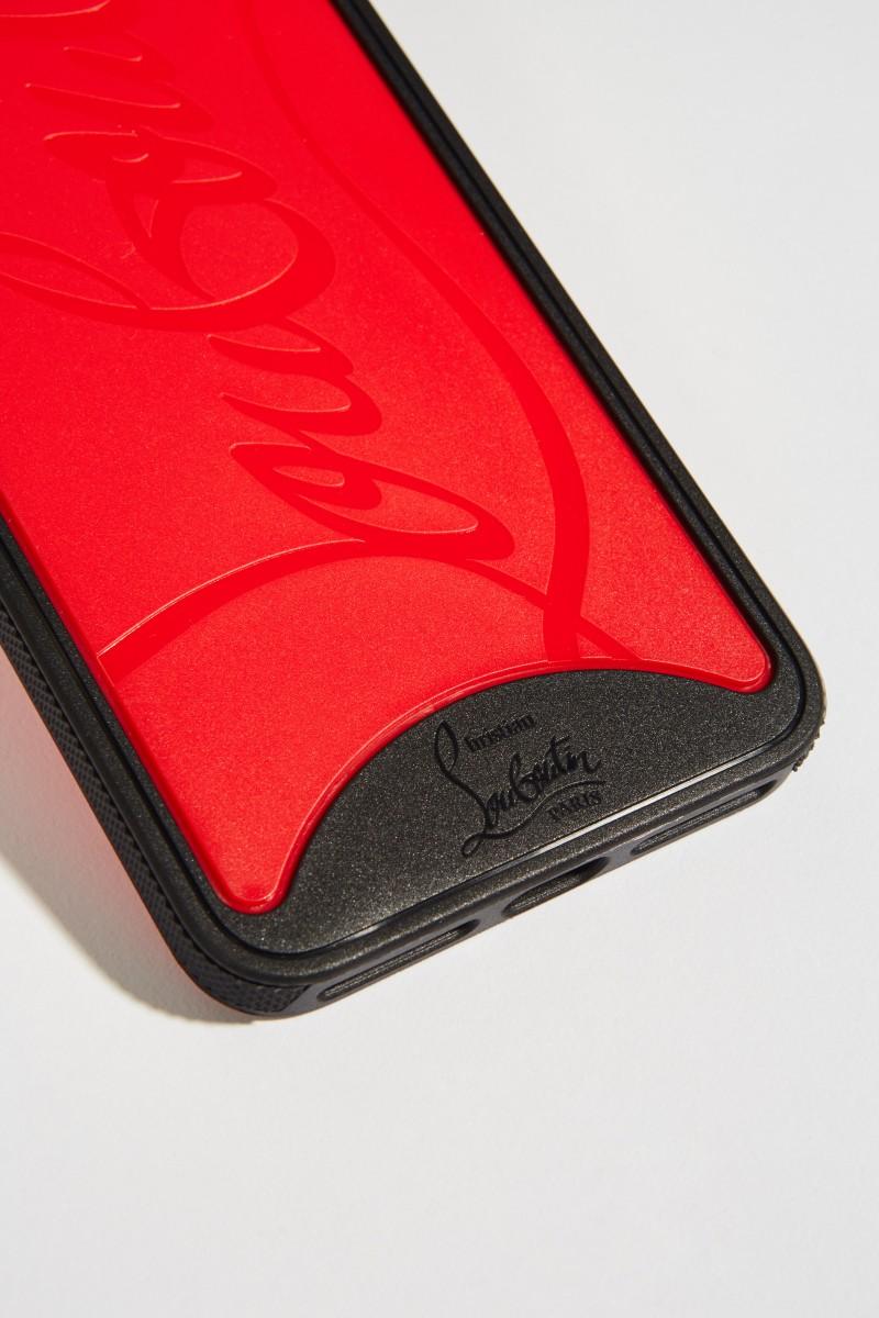 IPhone Case 7+/8+ mit Logo Schwarz/Rot