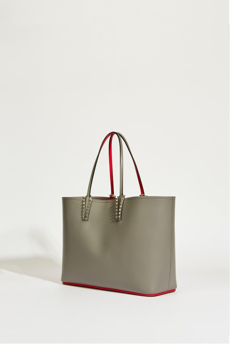 Shopper mit Nietendetails 'Cabata' Grau