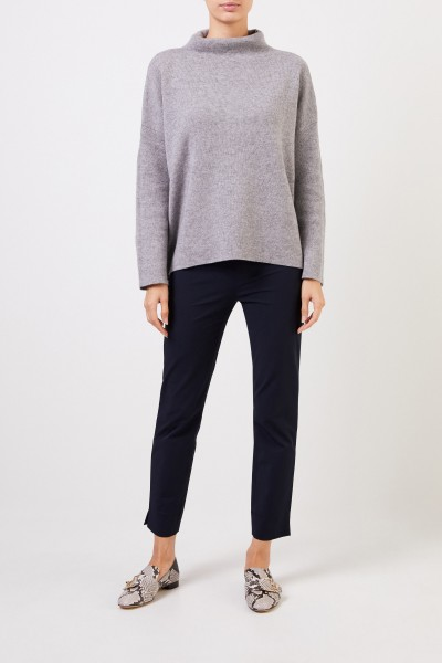 Stretch trousers 'Sabrina' Navy Blue