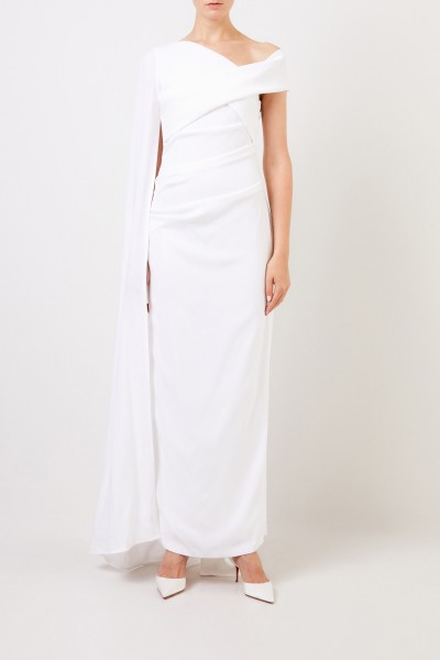 Long evening dress 'Rosedale 1' with train White
