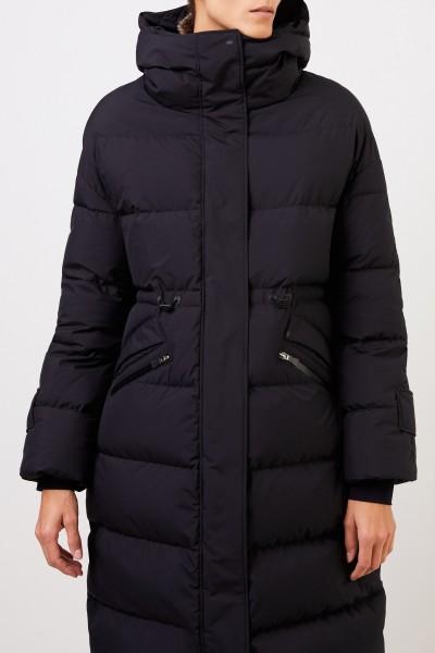 Herno Down coat with hood Black