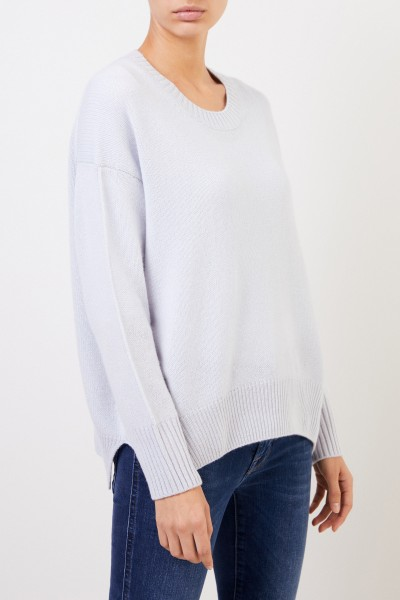 Allude Cashmere Sweater Light Blue