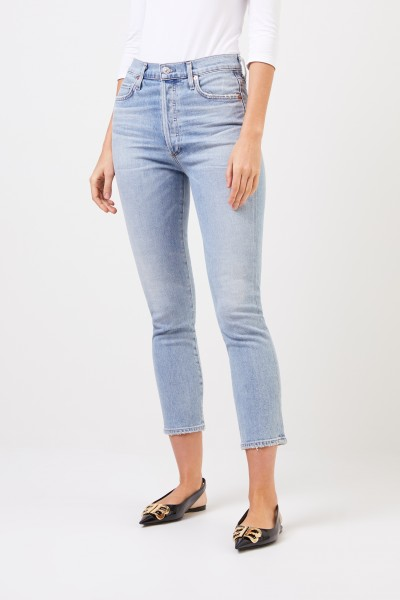 Citizens of Humanity High Rise Slim 'Olivia' Blue