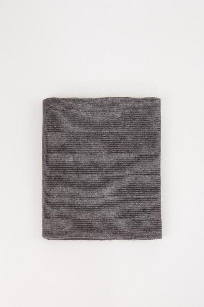 UZWEI Woll-Cashmere-Schal Grau