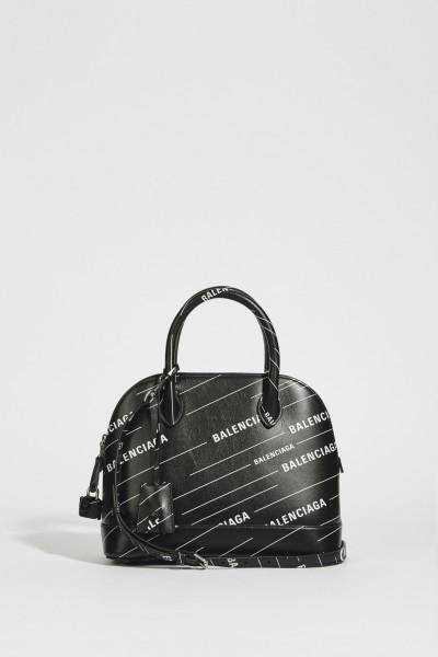 Bag 'Ville S' with logo black/white