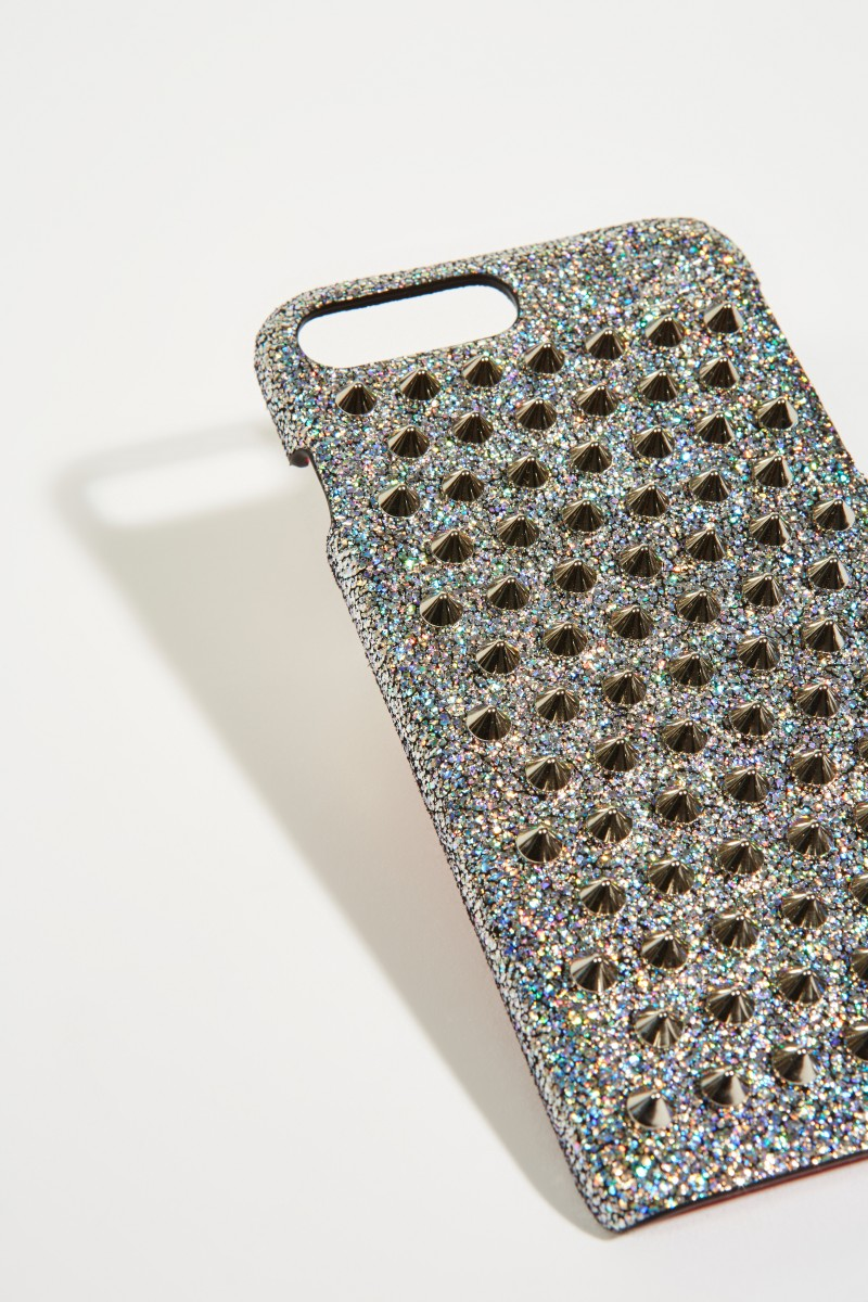 IPhone 7/8 Case 'Loubiphone' Silber