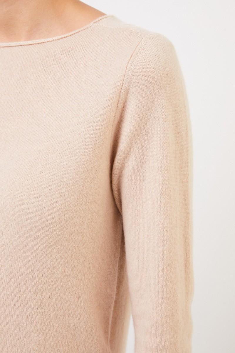 Cashmere-Pullover Camel