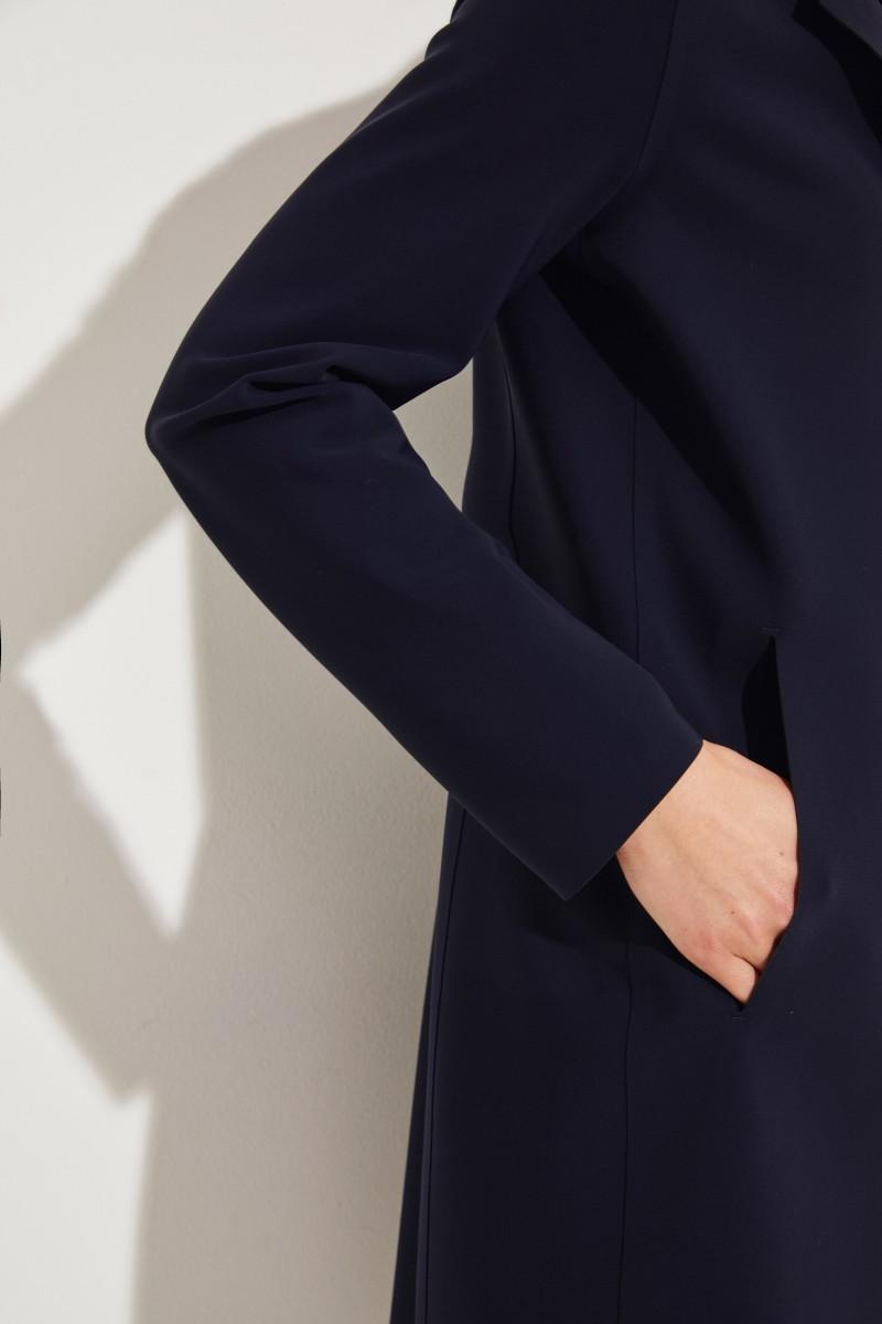 Mantel 'Scuba' Marineblau