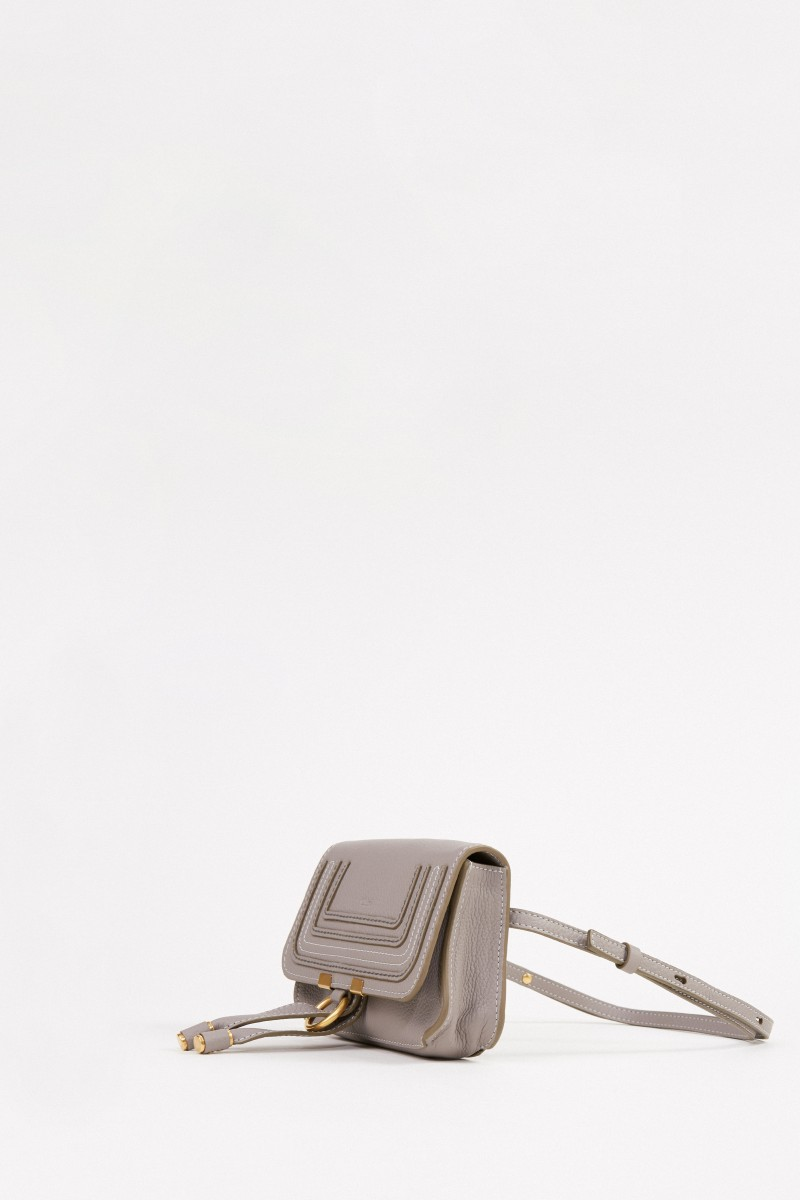 Chloé Gürteltasche 'Marcie Bum Bag' Light Cashmere Grey