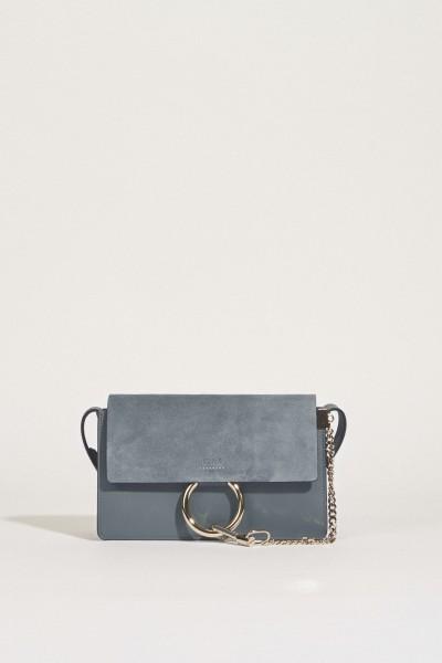 Umhängetasche 'Faye Classic Small' Cloudy Blue