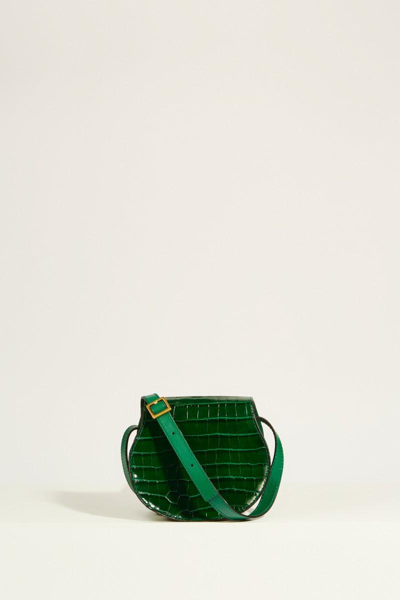 Umhängetasche 'Marcie Saddle Small' Woodsy Green