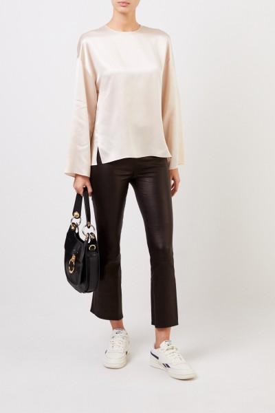 Classic silk blouse Beige