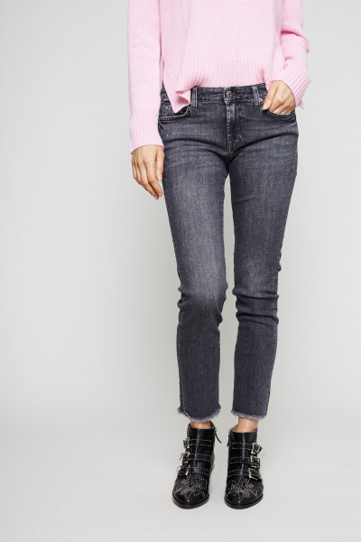 Slim Illusion Jeans 'Pyper Crop' Nightshadow
