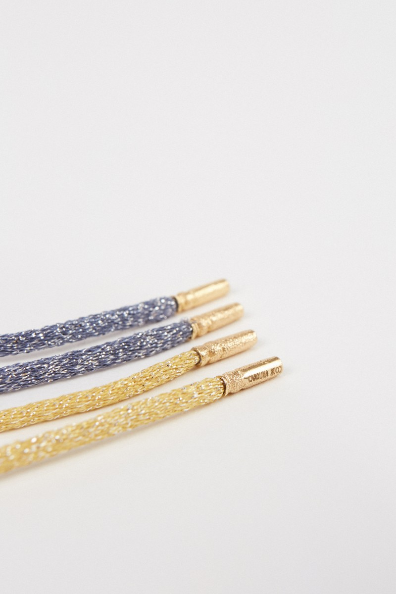 Carolina Bucci Perlenset 'FORTE Beads' mit Armband und Kette Gold/Blau