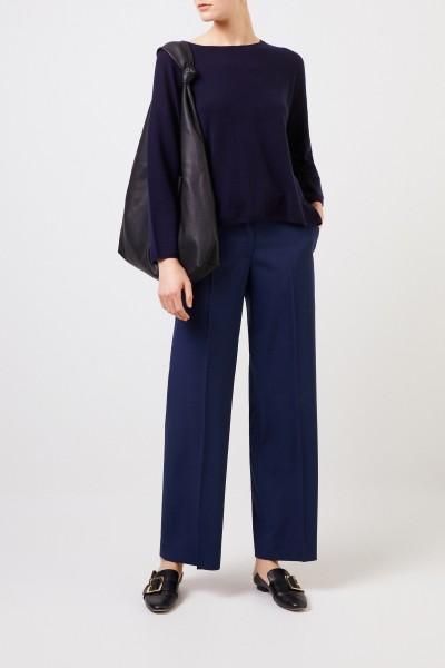 Oversize Cashmere-Pullover 'Callisto' Marineblau