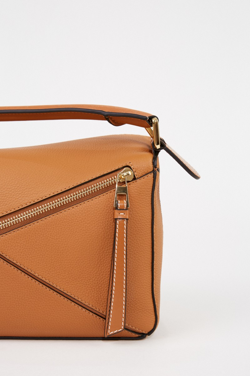Tasche 'Puzzle Bag Small' Light Camel