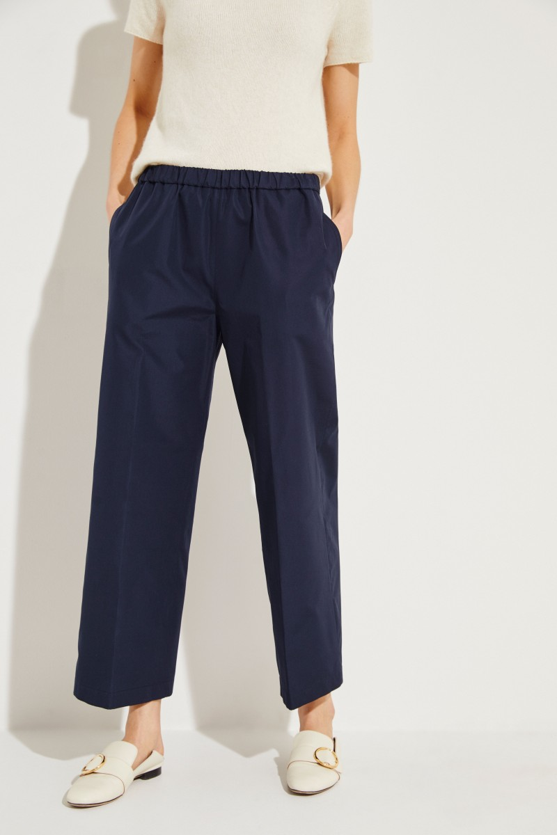 Baumwoll-Hose Blau
