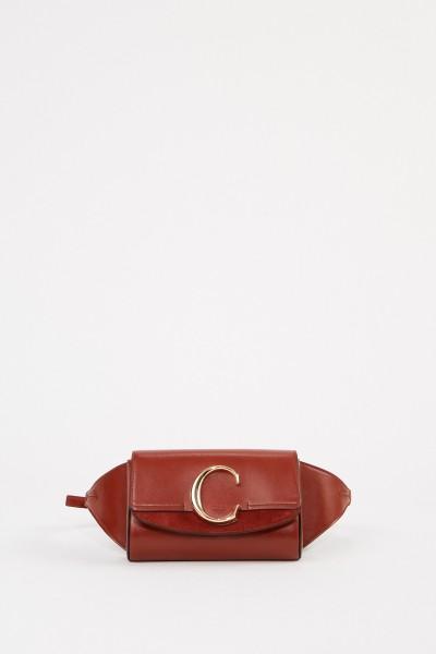 Belt bag 'C' Sepia Brown