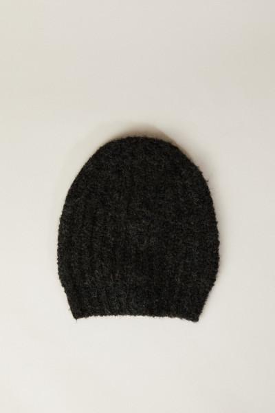 Grobstrick-Mütze Grün