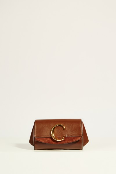 Gürteltasche 'Chloé C' Sharp Brown