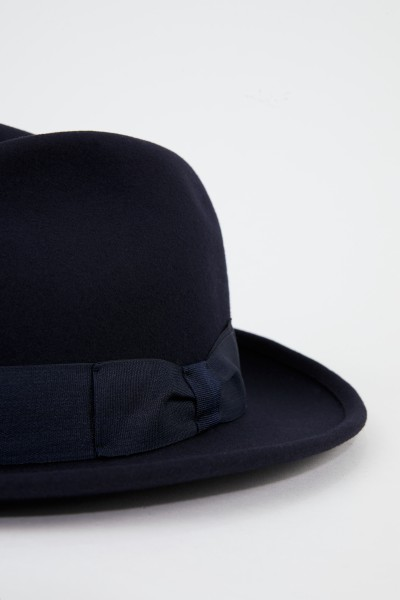 Ami Classic Wool Hat Navy Blue