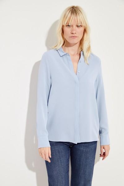 Seiden-Bluse 'Alessandra' Blau