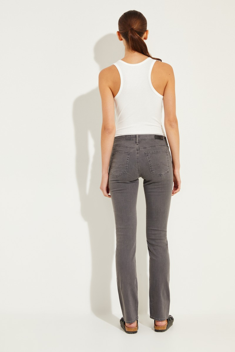 Straight Leg Jeans 'The Harper' Grau