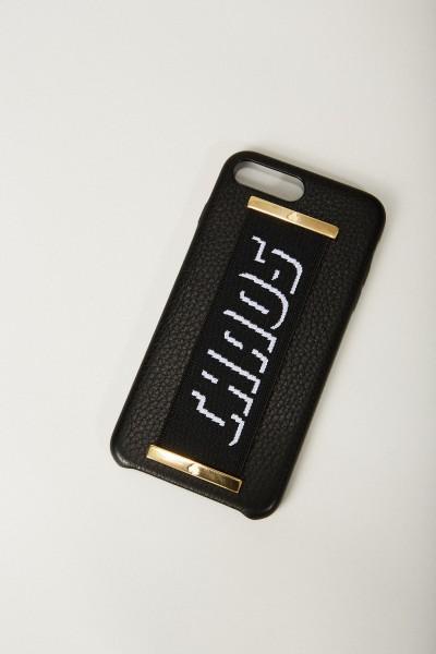 Iphone 7/8+ Case 'Hand Hug' Schwarz