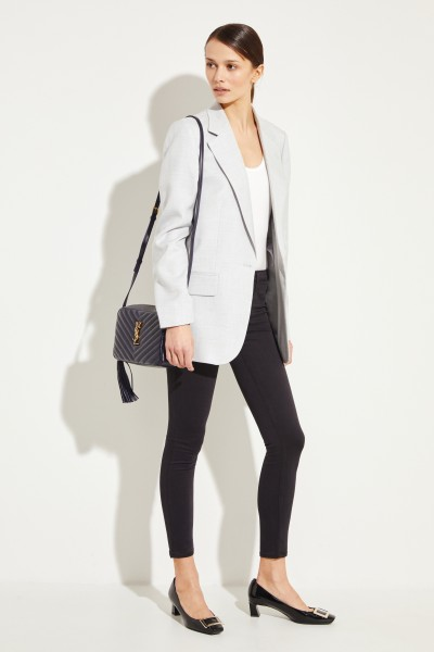 AG Jeans Super Skinny Jeans 'The Legging Ankle' Schwarz