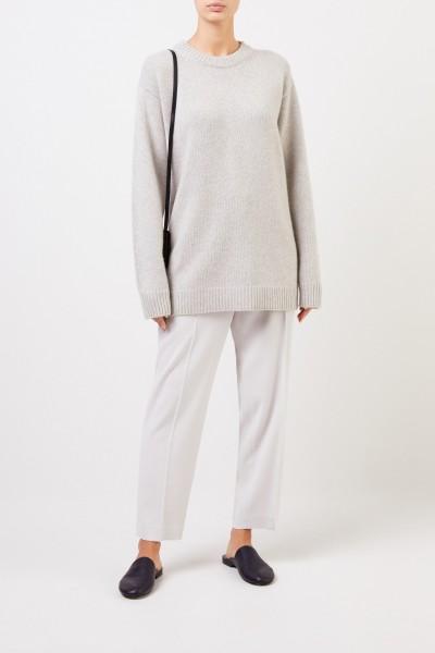 The Row Cashmere-Pullover 'Vaya' Grau Melange