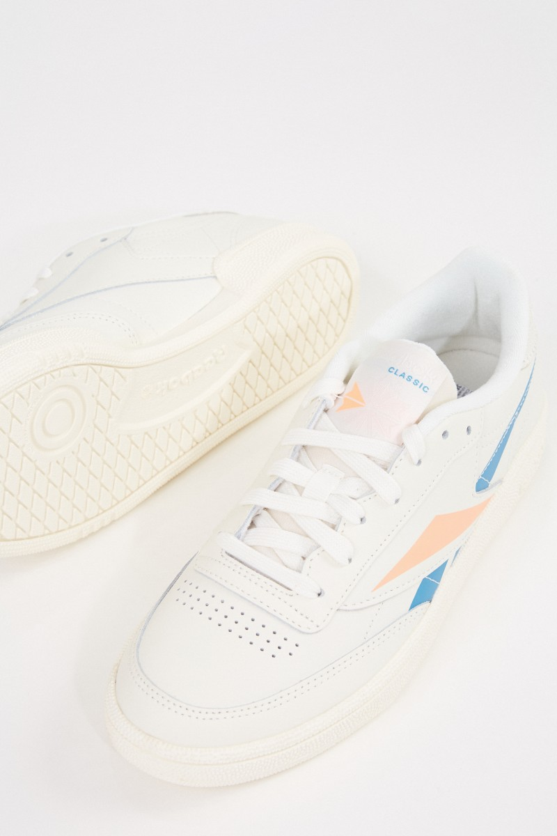 Reebok Sneaker 'Club C 85' Crème/Multi