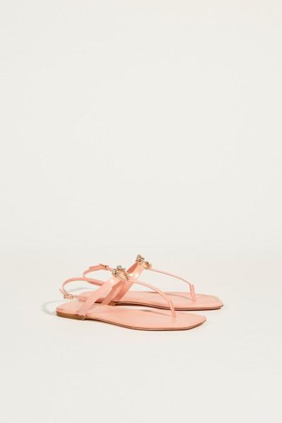 Sandal with stone decoration Rosé