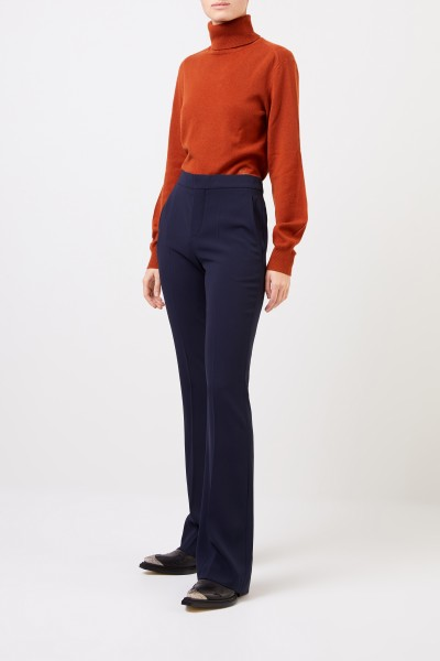 Chloé Trousers with flared hems Stormy Night